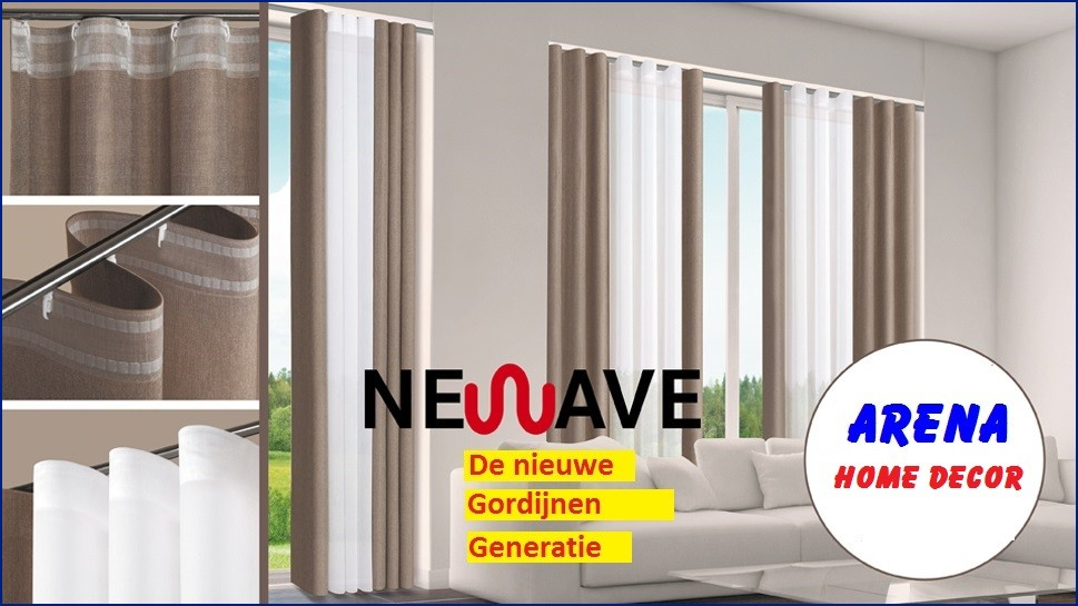 WAVE GORDIJN - ARENA HOME DECOR